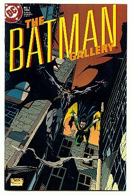 BATMAN ! THE BATMAN GALLERY #1 - DC COMICS