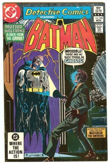 BATMAN ! DETECTIVE COMICS #520 NOV 1982 VF CONDITION!