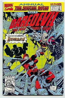 DAREDEVIL ! MARVEL COMICS ANNUAL #8 1992 VF/ NM CONDITION