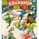 DC COMICS - ALL STAR SQUADRON #4 - vs JUSTICE SOCIETY VF/NM CONDITION
