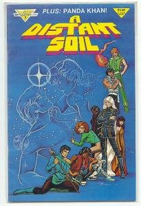 A DISTANT SOIL #7 - WARP GRAPHICS VF CONDITION