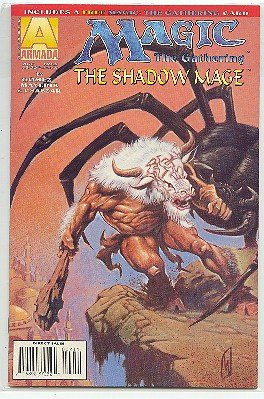 MAGIC THE GATHERING COMIC-SHADOW MAGE #2 NM CONDITION