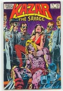 KA-ZAR THE SAVAGE #23 MARVEL COMICS VF CONDITION