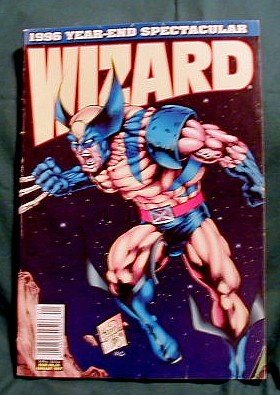 WIZARD COMIC BOOK PRICE GUIDE - # 65 � 1996 YEAR-END SPECTACULAR WOLVERINE
