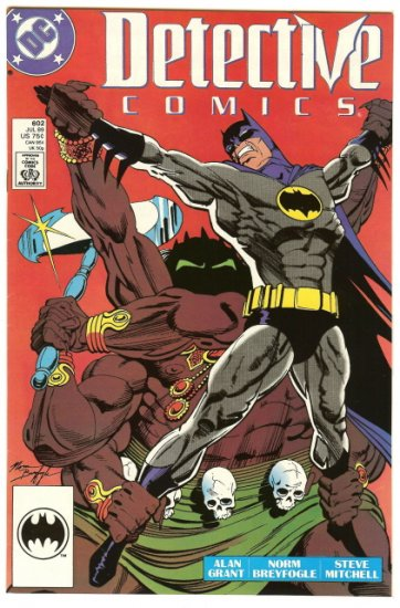 BATMAN ! DETECTIVE COMICS #602 JULY 1989 NM CONDITION!