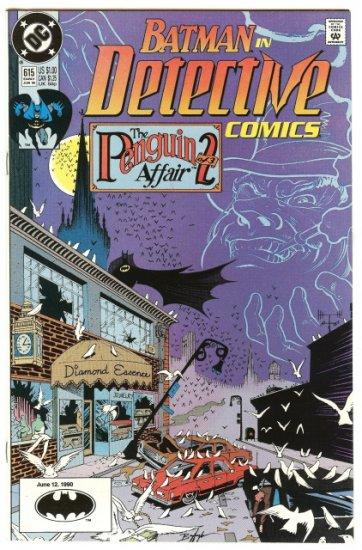 BATMAN ! DETECTIVE COMICS #615 June 12, 1990 NM CONDITION!