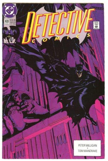 BATMAN ! DETECTIVE COMICS #633 AUG, 1991 VF/NM CONDITION!