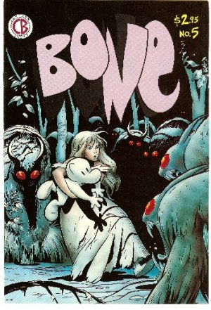BONE #5 ! CARTOON BOOKS 5TH PRINTING NOV, 1993 NM