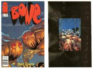 BONE #4 ! IMAGE COMICS APRIL, 1996 VF