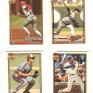 TOPPS MINI TRADING CARDS ! 4 CRACKER JACK ! SERIES II - NM
