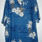 HAWAIIAN PRINT DRESS SHIRT - XL - NEW WITH TAG