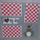 """I love My Dog""-Premade Scrapbook Page 12x12"