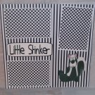 """Little Stinker tm sitting""-Premade Scrapbook Page 12x12"