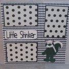 """Little Stinker tm standing 2""-Premade Scrapbook Page 12x12"