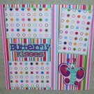 """Butterfly Kisses""-Premade Scrapbook Page 12x12"