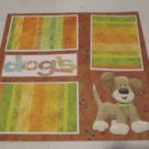 """Dogs a""-Premade Scrapbook Page 12x12"