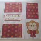 """""""My Little Monkey a""""-Premade Scrapbook Page 12x12"""