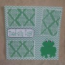 """""""Toadally Cute""""-Premade Scrapbook Page 12x12"""