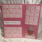 """Baby's 1st Valentine's Day""-Premade Scrapbook Page 12x12"