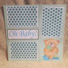 """""""Oh Baby Boy""""-Premade Scrapbook Page 12x12"""