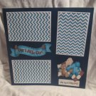"""""""Our Little One Boy""""-Premade Scrapbook Page 12x12"""