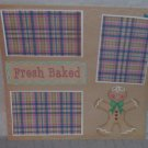 """""""Fresh Baked km """"-Premade Scrapbook Page 12x12"""