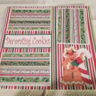 """""""Decorating Cookies Gingerbread Man""""-Premade Scrapbook Page 12x12"""