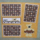 """100% Chocoholic""-Premade Scrapbook Page 12x12"