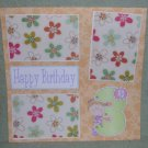 """3rd Birthday Girl""-Premade Scrapbook Page 12x12"