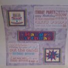 """Happy Birthday blc""-Premade Scrapbook Page 12x12"
