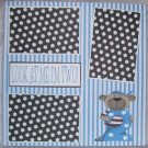 """""""Look At Me I'm Two""""-Premade Scrapbook Page 12x12"""