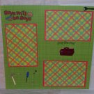 """""""Boys Will Be Boys st""""-Premade Scrapbook Page 12x12"""
