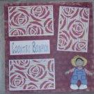 """Country Bumpkin Boy""-Premade Scrapbook Page 12x12"