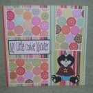 """""""My Little Cookie Monster Panda""""-Premade Scrapbook Page 12x12"""