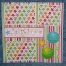 """My Little Explorer""-Premade Scrapbook Page 12x12"