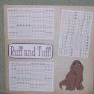 """Ruff and Tuff ss""-Premade Scrapbook Page 12x12"