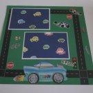 """Cars b""-Premade Scrapbook Page 12x12"