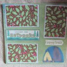"""""""Loving The Outdoors""""-Premade Scrapbook Page 12x12"""