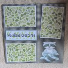 """Woodland Creatures nw""-Premade Scrapbook Page 12x12"