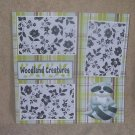 """""""Woodland Creatures nwa""""-Premade Scrapbook Page 12x12"""