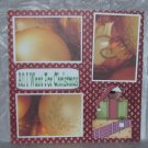 """""""All I Want For Christmas 1""""-Premade Scrapbook Page 12x12"""