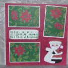 """""""All I Want For Christmas""""-Premade Scrapbook Page 12x12"""