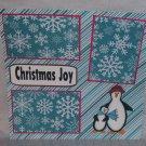 """Christmas Joy""-Premade Scrapbook Page 12x12"