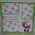 """""""Here Comes Santa b""""-Premade Scrapbook Page 12x12"""