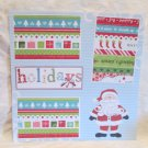 """Holidays Santa kw""-Premade Scrapbook Page 12x12"