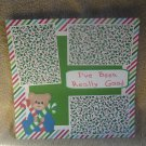 """""""I've Been Really Good Boy""""-Premade Scrapbook Page 12x12"""