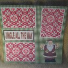 """Jingle All The Way""-Premade Scrapbook Page 12x12"