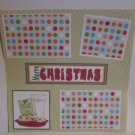 """Merry Christmas Milk and Cookies c""-Premade Scrapbook Page 12x12"