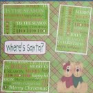 """Where's Santa? 2""-Premade Scrapbook Page 12x12"
