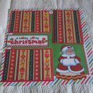 """""""A Holly Jolly Christmas Mrs Claus""""-Premade Scrapbook Page 12x12"""